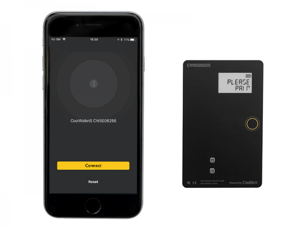 A CoolWallet S and Native App
