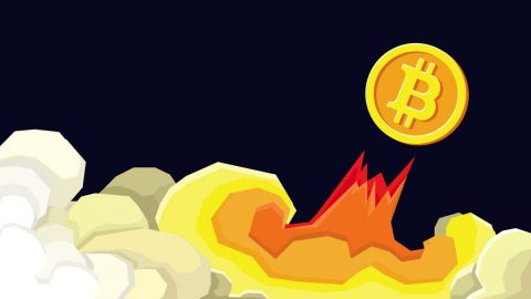 A Picture of Bitcoin Cash Going to the Moon