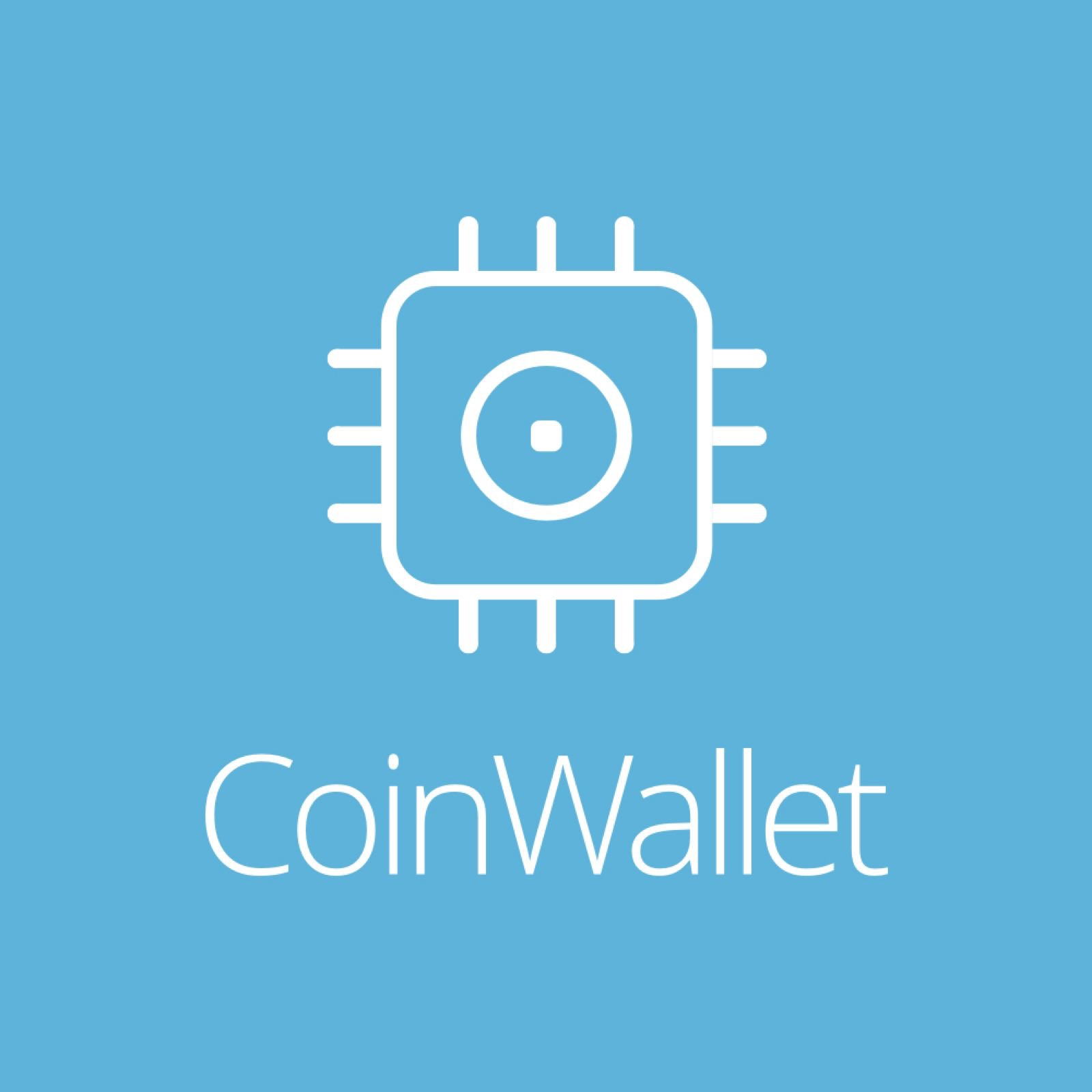 The logo of CoinWallet, the Chinese retailer of CoolWallet S