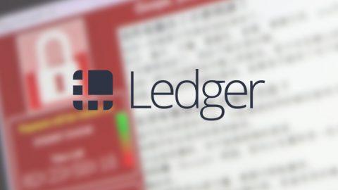 ledger faces phishing malware