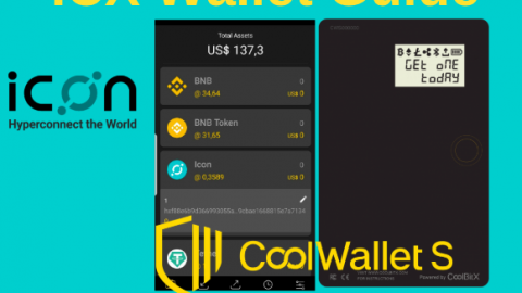 How to set up and back up your ICX wallet on CoolWallet S