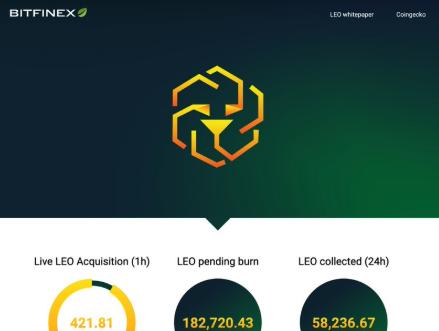 leo bitfinex logo