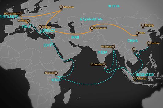 China's Belt and Road program