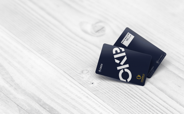 CoolWallet S and OKB card