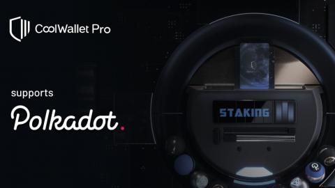 stake polkadot dot on coolwallet pro